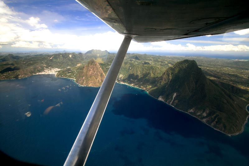 St Lucia - iconic Pitons